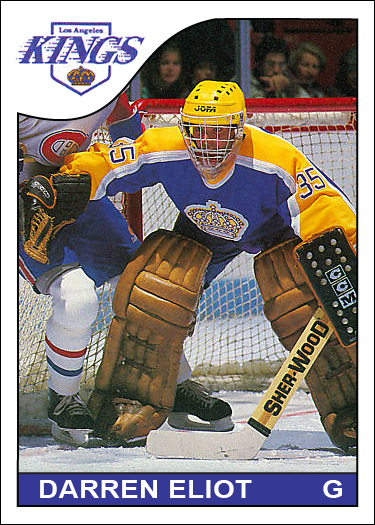1985-86 Custom Darren Eliot card