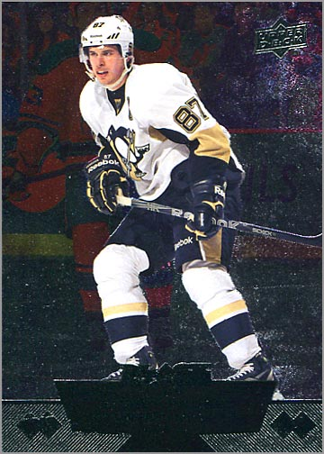 2012-13 Upper Deck Black Diamond #1- Sidney Crosby