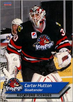 2011-12 Rockford IceHogs #10 - Carter Hutton