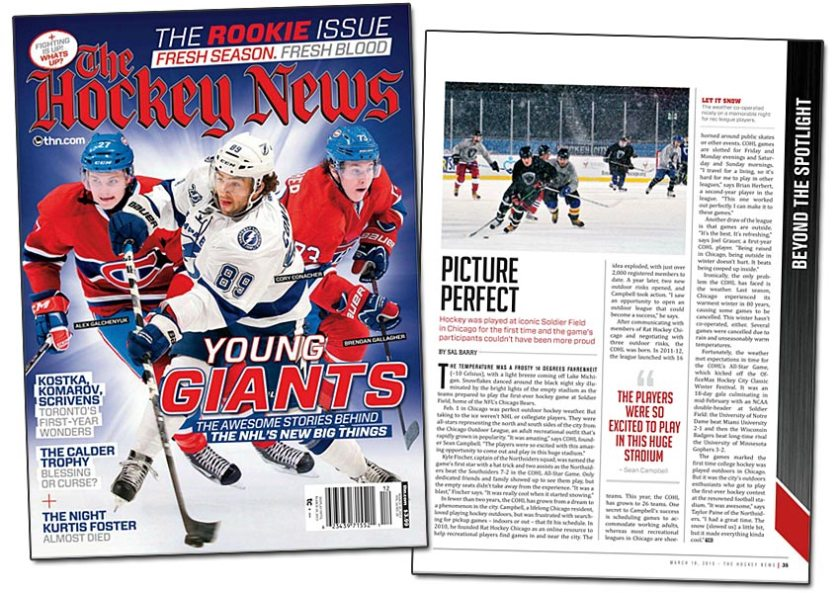 The Hockey News - March 18, 2013