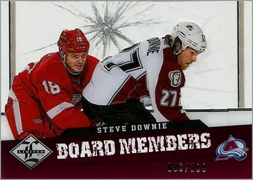 2012-13 Panini Limited Board Members BM-49 - Steve Downie