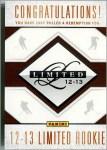 2012-13 Panini Limited Box Break