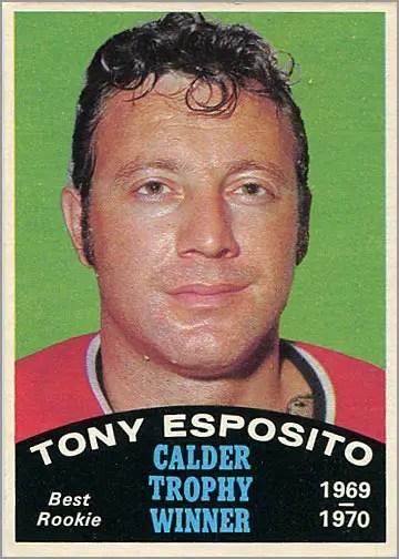 1970-71 O-Pee-Chee #247 - Tony Esposito / Calder Trophy Winner
