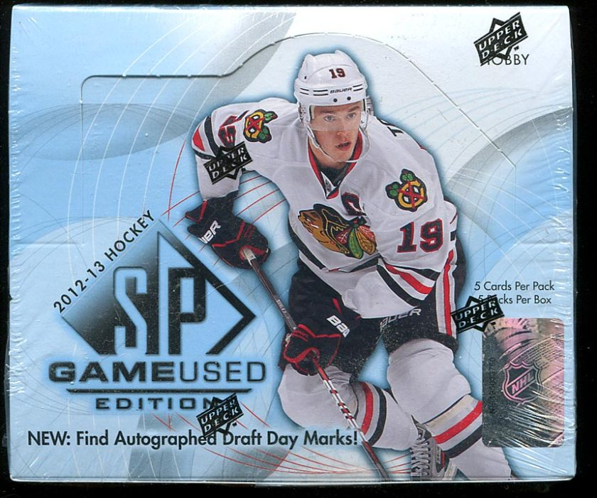 2012-13 SP Game Used Box