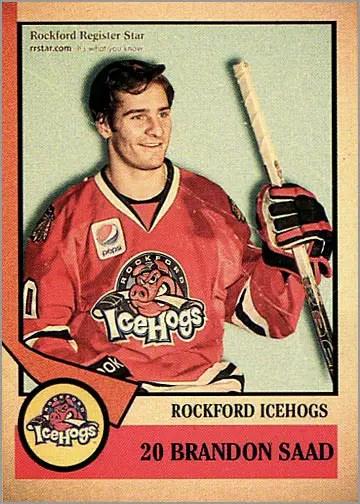 2012-13 Rockford IceHogs #20 - Brandon Saad