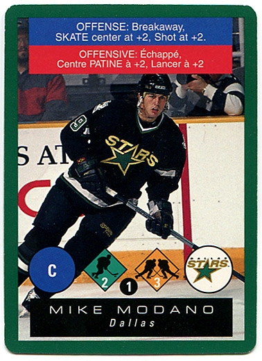 1995-96 Playoff One on One Hockey Challenge prototype cards