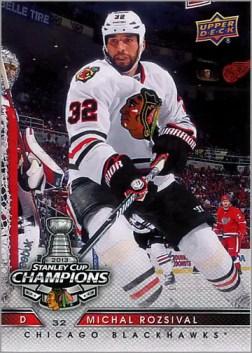 2013 Chicago Blackhawks Commemorative Box Set #18 - Michal Rozsival
