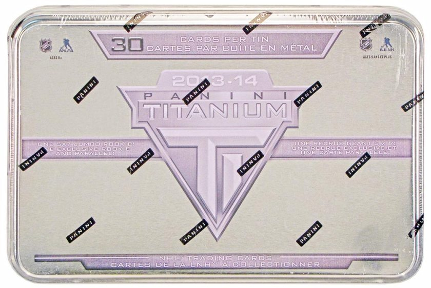 Box Break: 2013-14 Panini Titanium Hockey Retail Tin