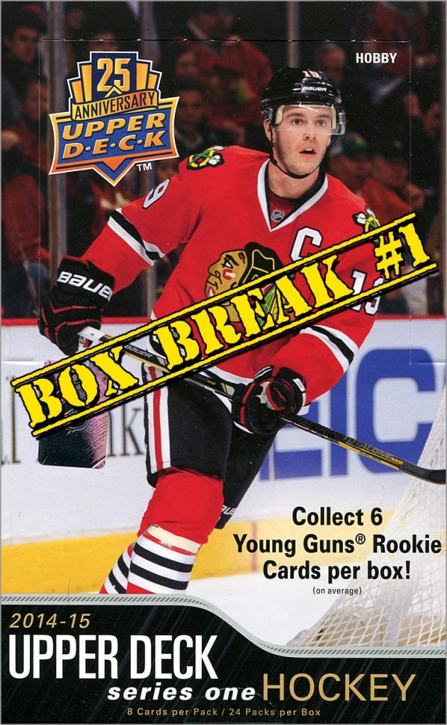 2014-15 Upper Deck Series 1 box break #1