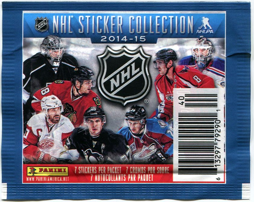Pack Break: 2014-15 Panini NHL Stickers