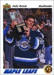 1991-92 Upper Deck #460 - Felix Potvin