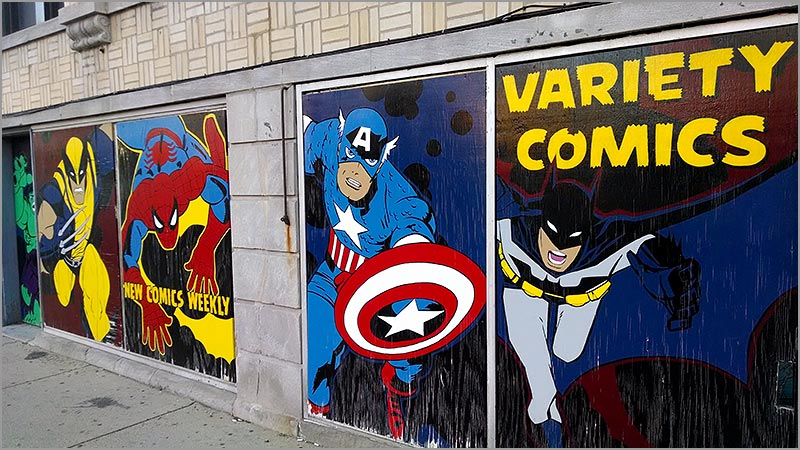 Buying Cards in the 1990s, Memory #2: The Comic Book Store