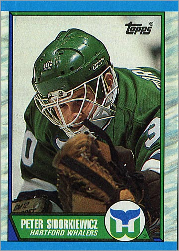 1989-90 Topps #11 - Peter Sidorkiewicz
