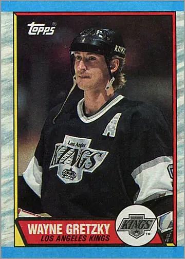 1989-90 Topps #156 - Wayne Gretzky
