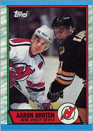 1989-90 Topps #180 - Aaron Broten