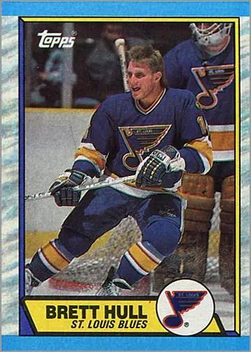 1989-90 Topps #186 - Brett Hull