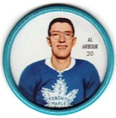 1962-63 Shirriff Coin #20 - Al Arbour