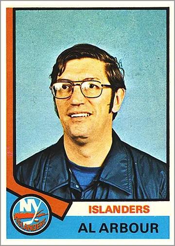 1974-75 O-Pee-Chee #91 - Al Arbour (coach)