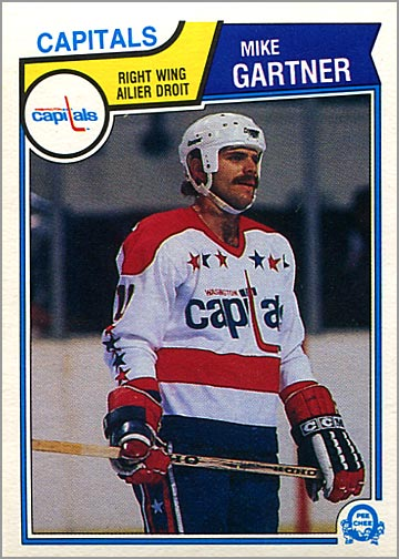 1983-84 O-Pee-Chee #369 - Mike Gartner