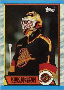 1989-90 Topps #61 - Kirk McLean