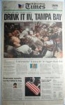 The Tampa Bay Lightning: A Championship in Newspapers