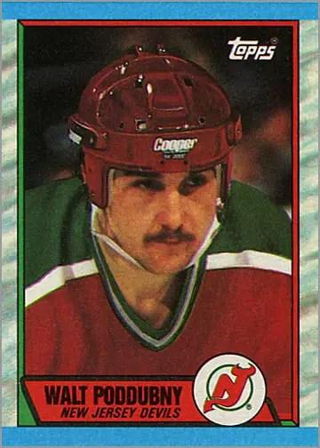 1989-90 Topps #184 - Walt Poddubny