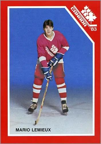 1983 Team Canada - Mario Lemieux