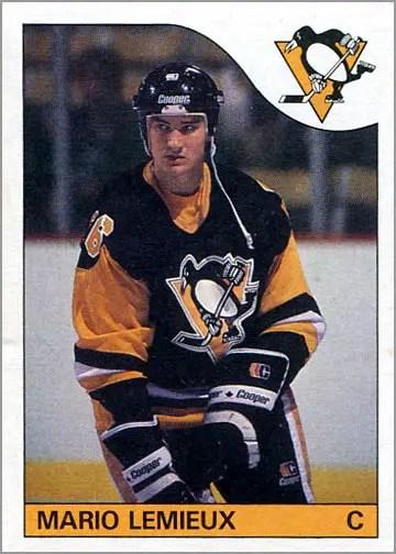 1985-86 Topps #9 - Mario Lemieux