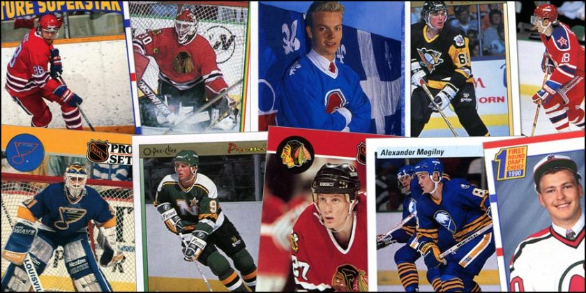 Trading Card Explosion Article for The Hockey News
