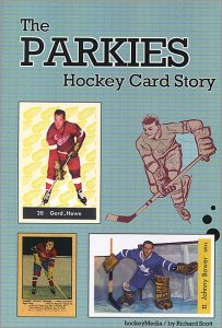 The Parkies Hockey Card Story - book cover