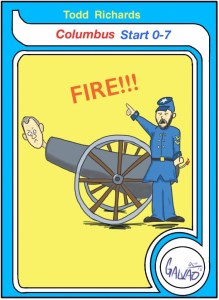 Card 'Toons: Columbus Fires More Than Just Cannon Balls