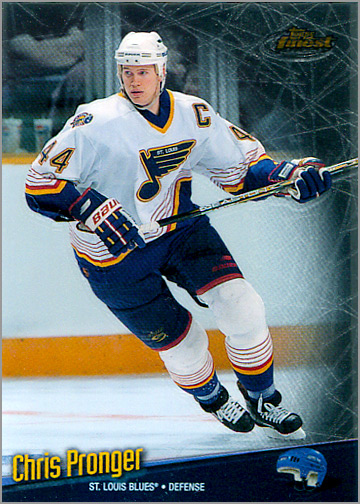 1998-99 Topps Finest #22 - Chris Pronger