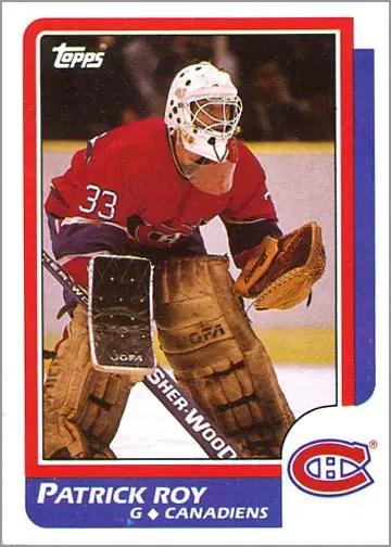 1986-87 Topps #53 - Patrick Roy