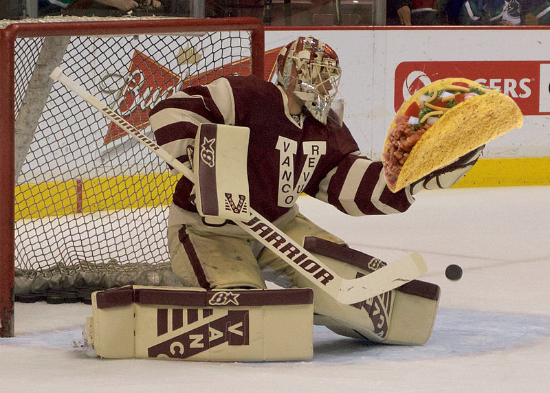 Eddie Lack loves tacos