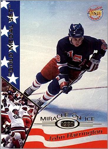 1995 Miracle on Ice #14 - John Harrington