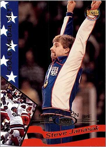 1995 MIracle on Ice - #16 Steve Janaszak
