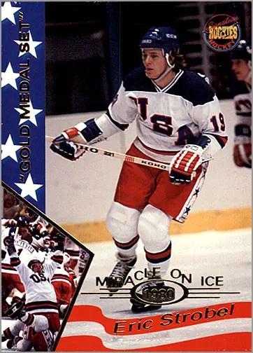 1995 Miracle on Ice #35 - Eric Strobel