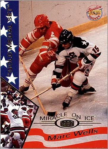 1995 Miracle on Ice #40 - Mark Wells