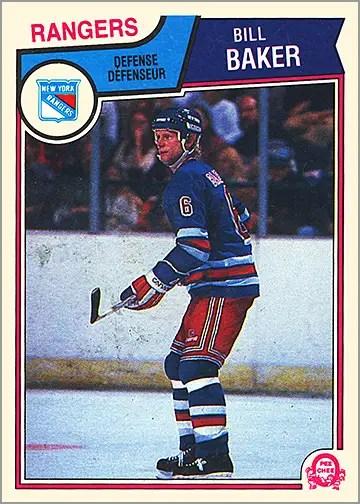 1983-84 O-Pee-Chee #240 - Bill Baker