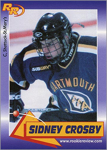 2003_Sidney_Crosby_Rookie_Review
