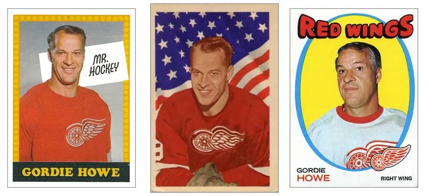 Career in Cards: Gordie Howe