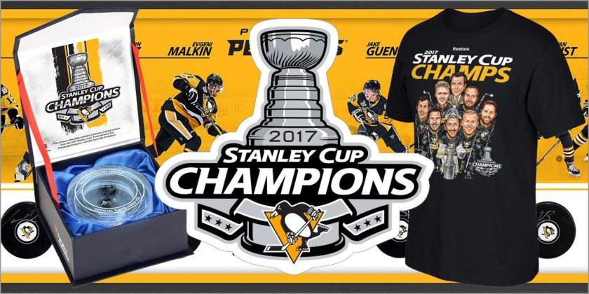 New Penguins 2017 Championship Items