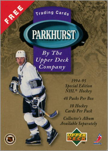 1994-95 Parkhurst SE Promo Card