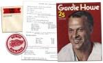 1973-74 Detroit Red Wings Souvenir List