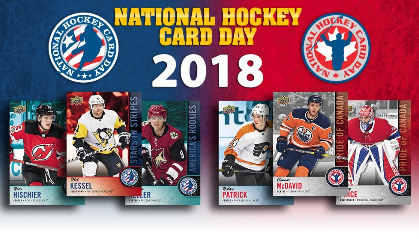 Saturday is National Hockey Card Day