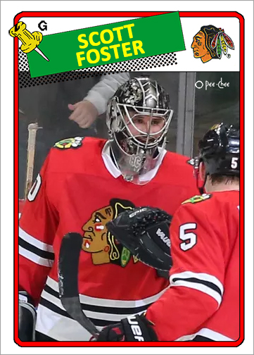 Scott Foster Custom Hockey Cards