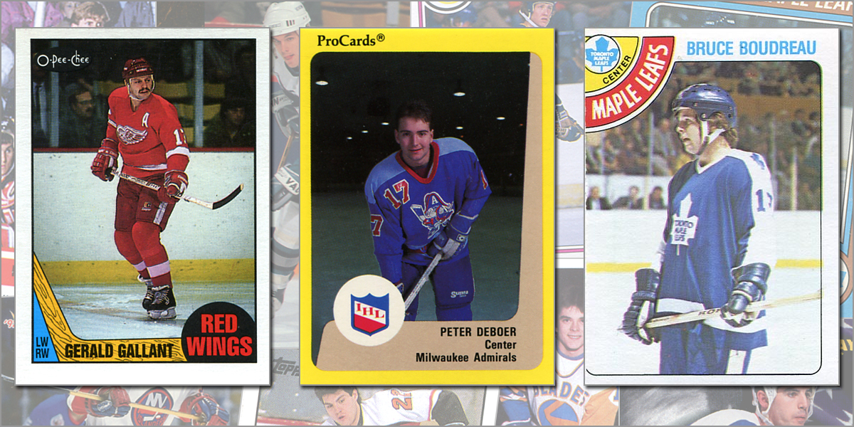 Rookie Cards Of Every Nhl Head Coach For The 2018 19 Season