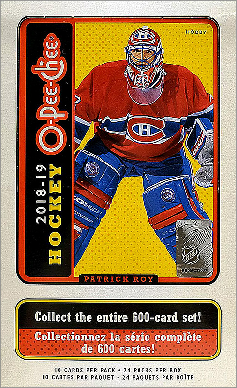 Box Break: 2018-19 O-Pee-Chee Hockey