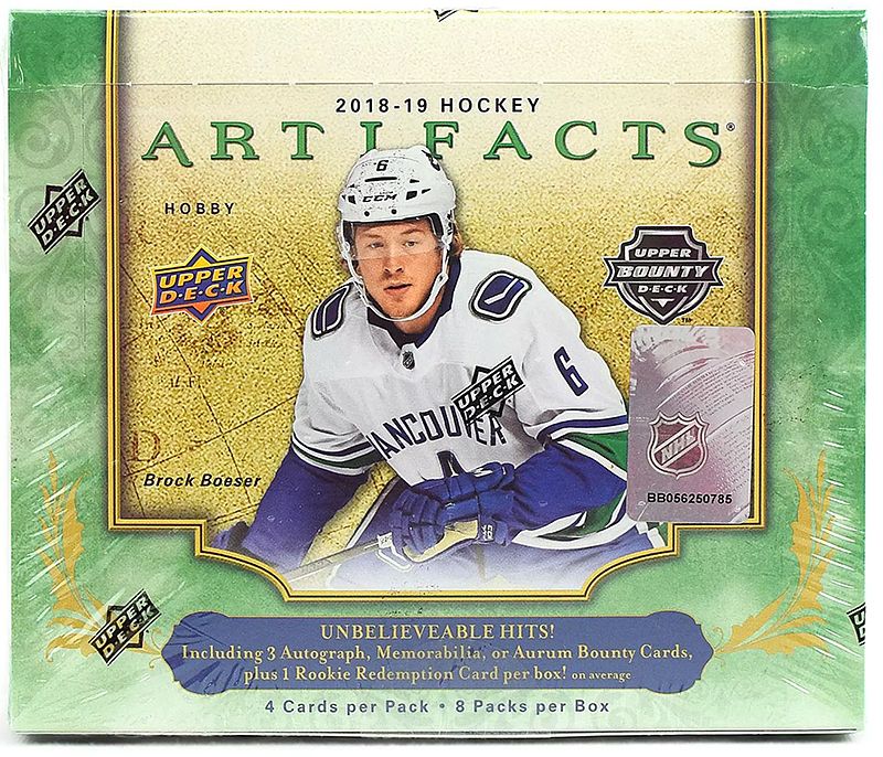 Box Break:  2018-19 Artifacts Hockey