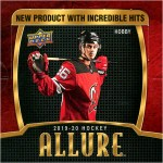 2019-20 Allure Hockey Box Break #2